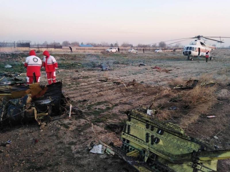 Ukrayna təyyarəsi İranda qəzaya düşdü - 167 sərnişin və 9 ekipaj üzvü həlak olub.