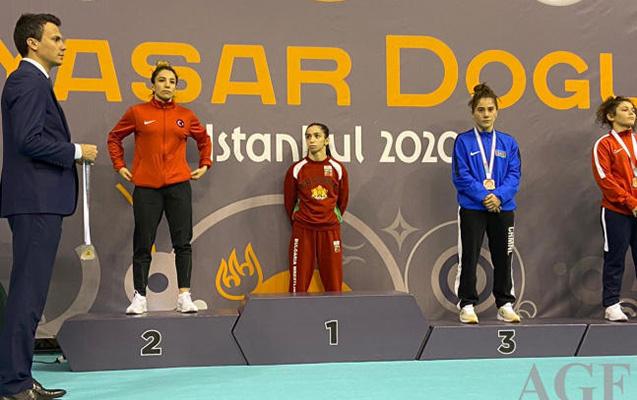 Güləşçilərimizdən bürünc medal