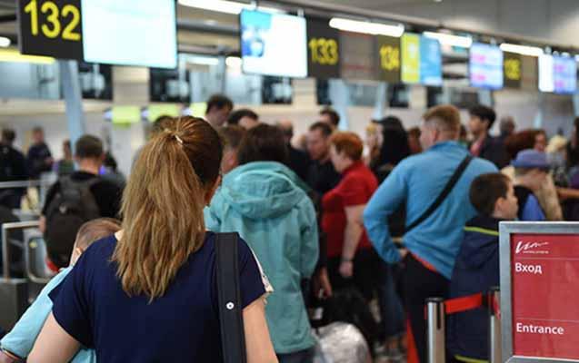 Moskva aeroportlarında 23 reys gecikir