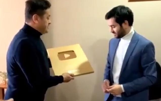 Bu mükafatı Azərbaycandan ilk o aldı - Video