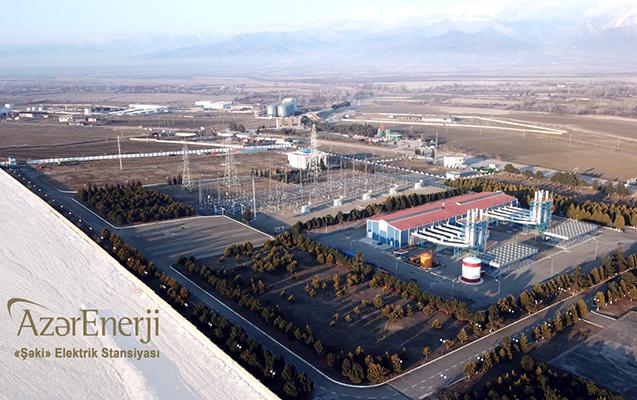"""""""Azərenerji"""" Şəki Elektrik Stansiyasının """"itirilmiş"""" gücünü bərpa etdi - Video"""