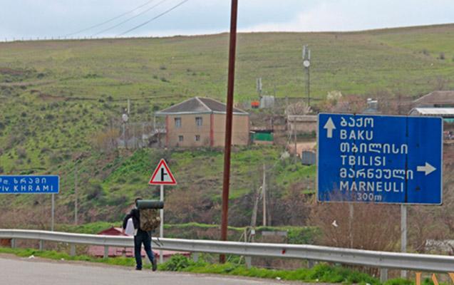 Gürcüstan-Azərbaycan sərhədində silahlı insident
