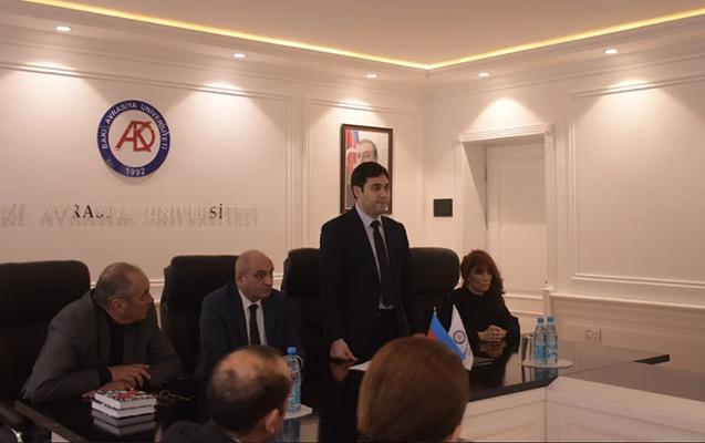 Bakı Avrasiya Universitetində anım tədbiri keçirildi