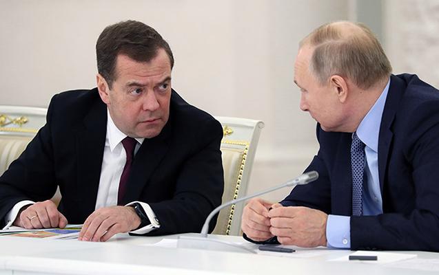 Putin yeni vəzifə yaratdı, Medvedevi rəhbər gətirdi