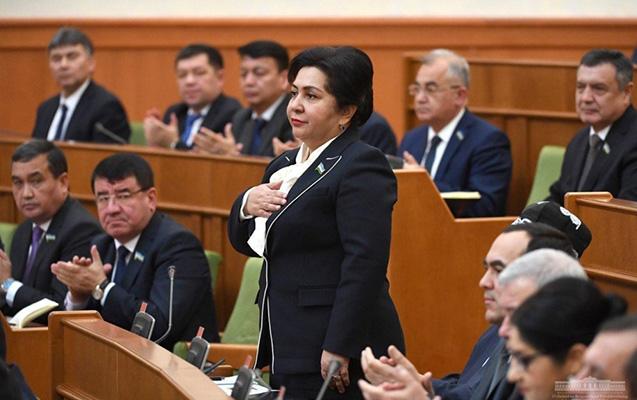 Tənzilə Narbayeva yenidən sədr seçildi