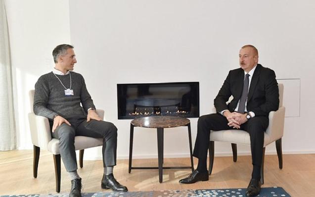 Prezident Erik Rondolatla görüşdü