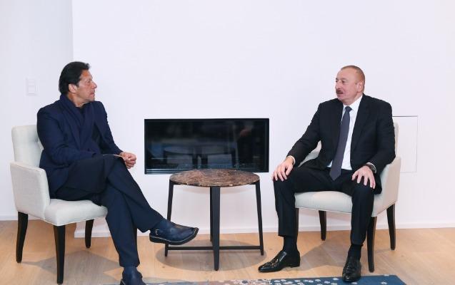 İlham Əliyev İmran Xanla görüşdü