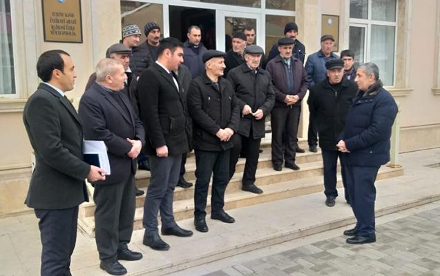 Siyavuş Novruzov Naxçıvanda seçicilərlə görüşüb