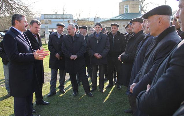Malik Həsənov 4 kənddə görüş keçirdi