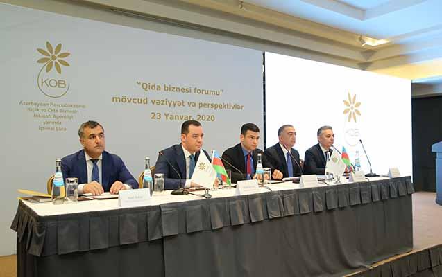 KOBİA yanında İctimai Şuranın forumu qida biznesinə həsr olunub
