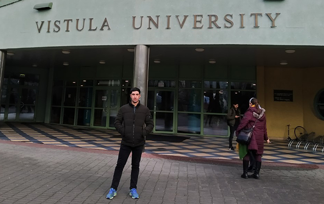 BMU məzunu nüfuzlu Vistula Universitetində!