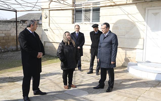 Sahil Babayev vətəndaşlarla görüşdü