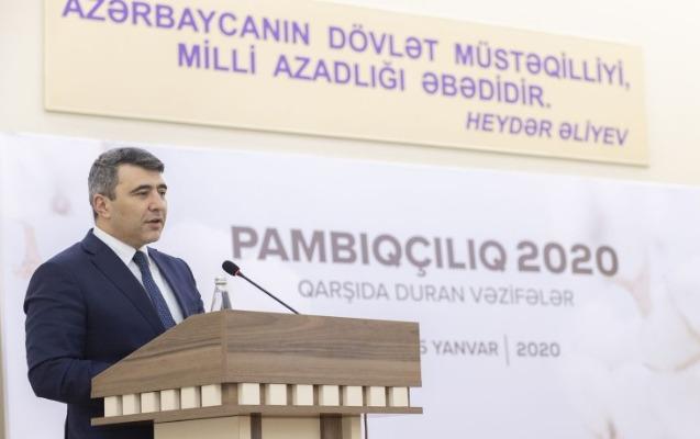 """""""Pambıqçılıq 2020: qarşıda duran vəzifələr"""" mövzusunda respublika müşavirəsi keçirildi"""