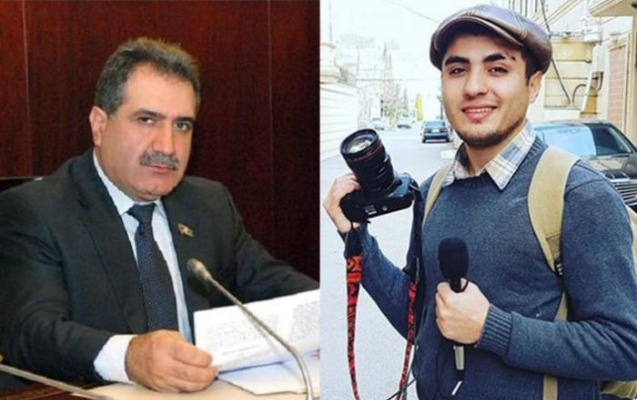 Mehman Hüseynov Fərəc Quliyevin səs yazısını yaydı