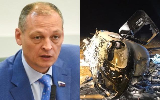 Rusiyada deputat helikopter qəzasında öldü