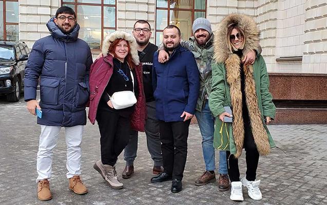 Şou-biznesin 4 məşhuru Moskvada barışdı