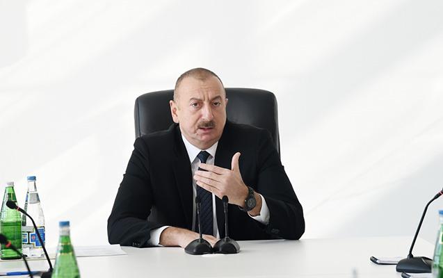 İlham Əliyev parkinq yerləri ilə bağlı məsələyə münasibət bildirdi