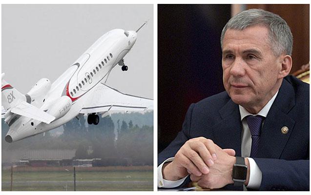 Tatarıstan prezidenti 3 milyardlıq təyyarəsi ilə gündəmdə