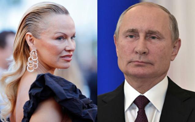 Pamela Anderson Putindən kömək istədi