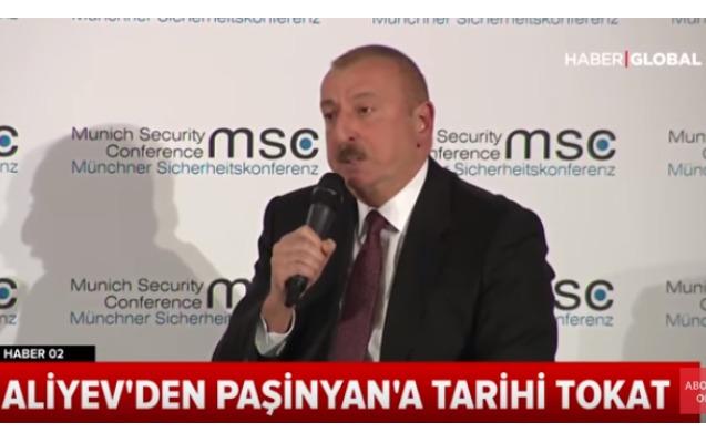 """Türkiyə telekanalı: """"Əliyevdən Paşinyana tarixi şillə"""""""