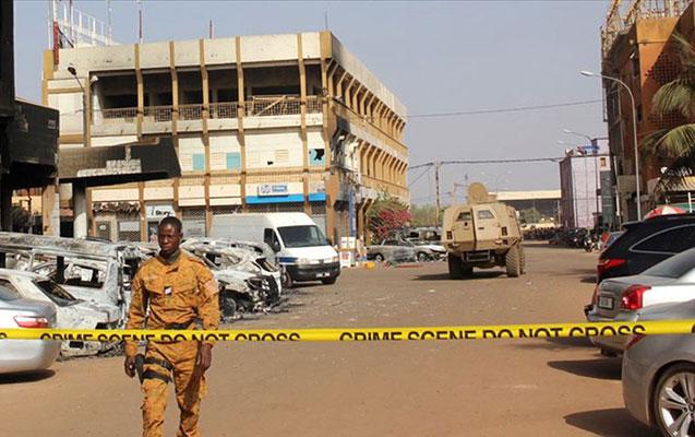 Burkino-Fasoda kilsəyə hücum