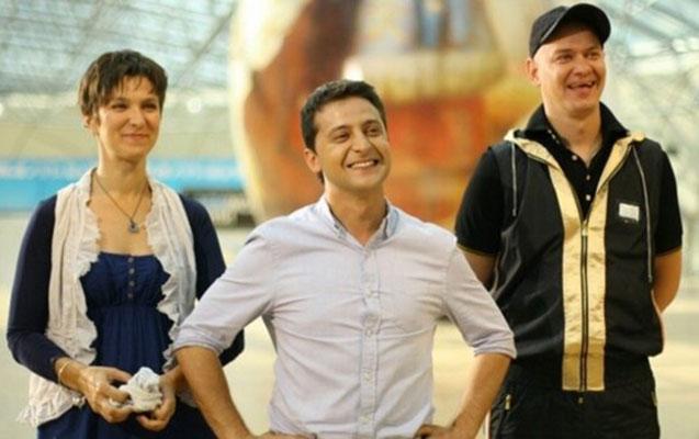 Zelenskinin çəkildiyi film Ukraynada qadağan olundu