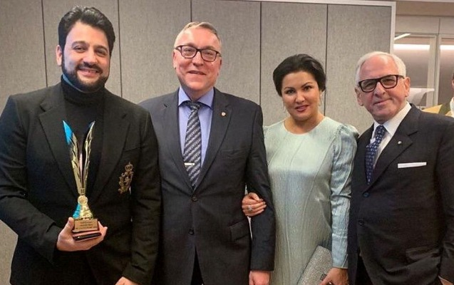 Yusif Eyvazov beynəlxalq mükafata layiq görüldü