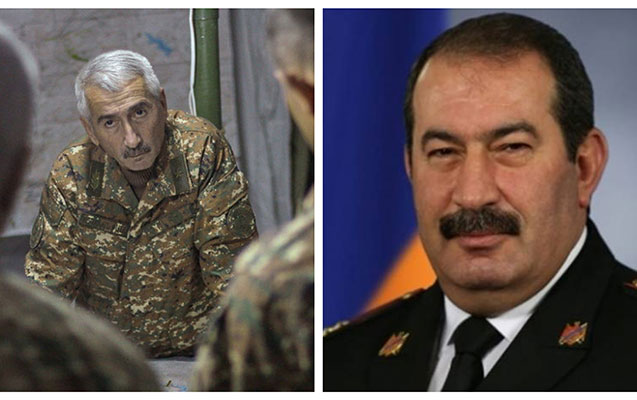 Ermənistanda generallar istefaya göndərildi