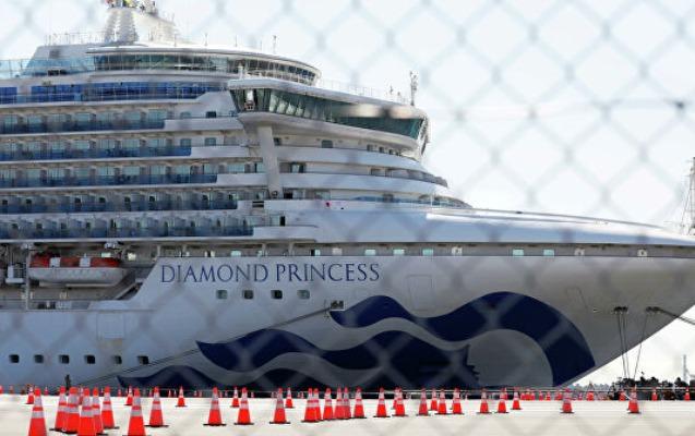 """""""Diamond Princess""""in daha bir sərnişini öldü"""
