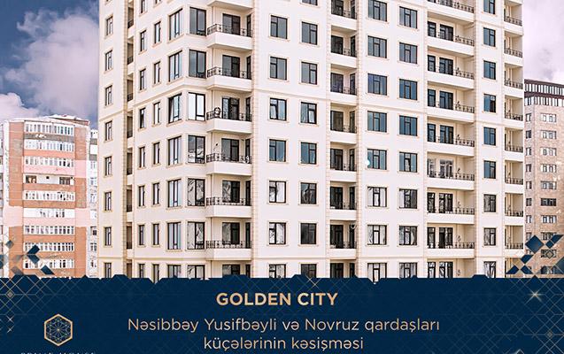 """""""Golden city"""" yaşayış kompleksi"""