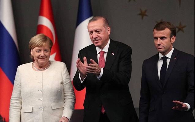 Ərdoğan Merkel və Makrona zəng etdi