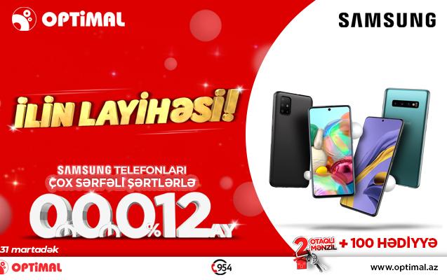 Samsung və Optimaldan ilin layihəsi!