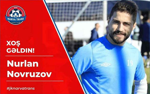 Azərbaycanlı futbolçu Estoniya klubunda