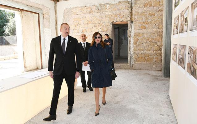Prezident Azərbaycan Mədəniyyət Mərkəzi üçün nəzərdə tutulan bina ilə tanış olub
