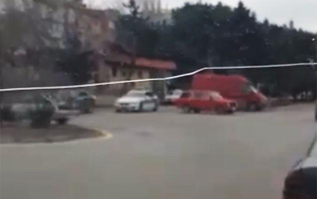 """Bu dəfə """"Keşlə dairəsi""""ni fırlanan yol polisinin videosu yayıldı"""