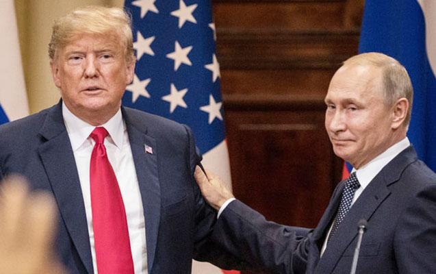 Putinlə Tramp dünyanın iki əsas gündəmini müzakirə etdi