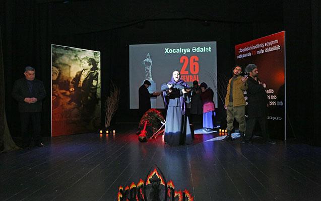 Binəqədidə Xocalıya həsr edilmiş silsilə tədbirlər keçirilib - Fotolar