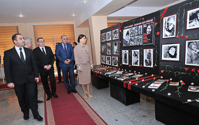 Abşeronda Xocalı soyqırımı qurbanlarının xatirəsi yad edilib- Foto