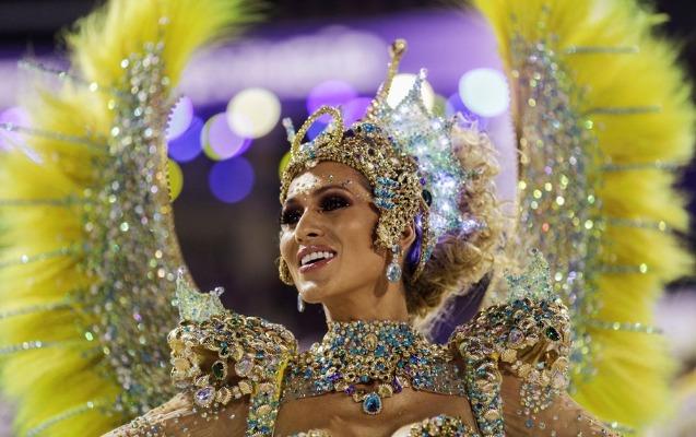 Braziliyadakı karnavalın ən rəngarəng iştirakçıları