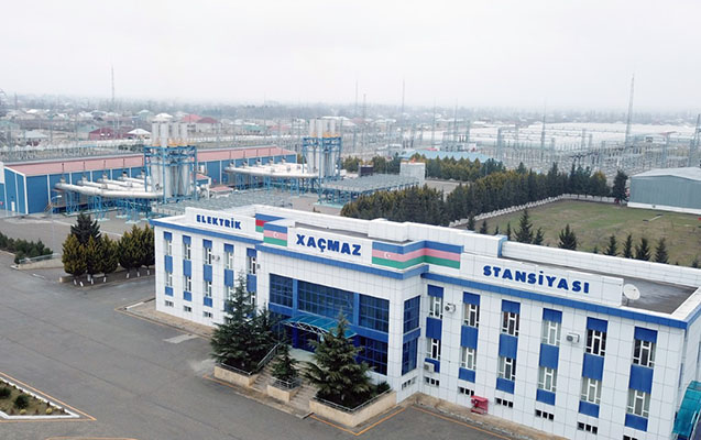 """""""Azərenerji"""" """"Xaçmaz"""" Elektrik Stansiyasının """"itirilmiş"""" gücünü bərpa etdi"""