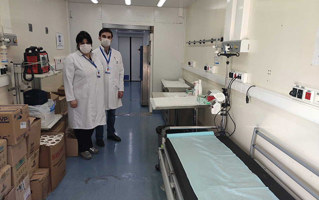 Azərbaycan-İran sərhədində səyyar hospitallar yaradılır