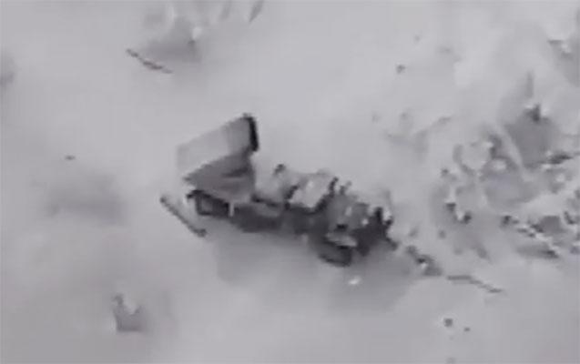 Türkiyə vurduğu zərbələrin videosunu yaydı