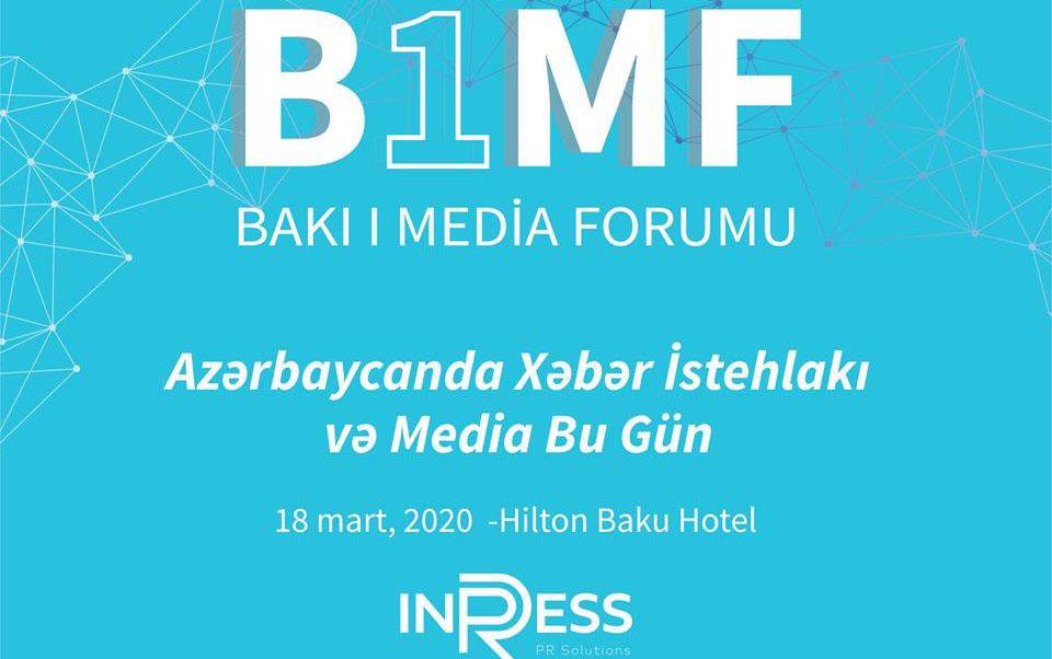 Bakı I Media Forumu keçiriləcək