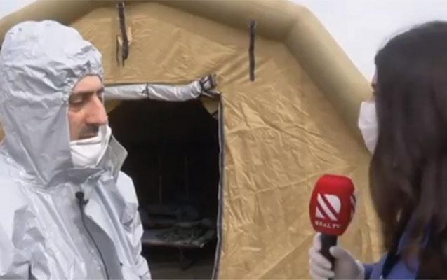 İran-Azərbaycan sərhədində səyyar hospitallar yaradıldı