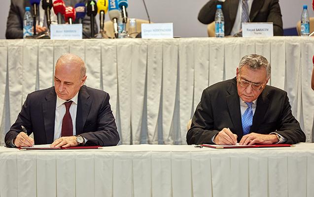 Azercell Milli Olimpiya Komitəsi ilə əməkdaşlıq Memorandumu imzaladı