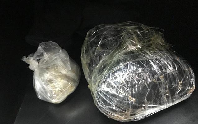 Narkotik satanlar saxlanıldı