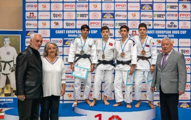 Cüdoçularımız Avropa kubokunda 4 medal qazandı - Fotolar