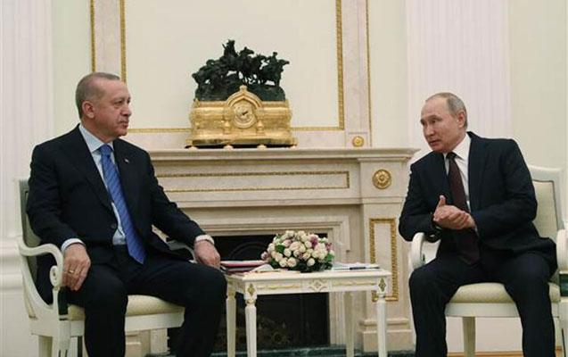 Ərdoğanla Putinin 3 saatlıq görüşü bitdi