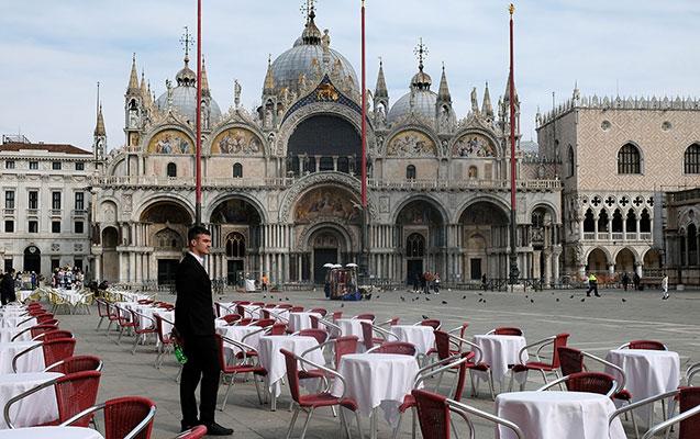 İtaliyada ölənlərin sayı artdı, şəhərlərin görünüşü dəyişdi