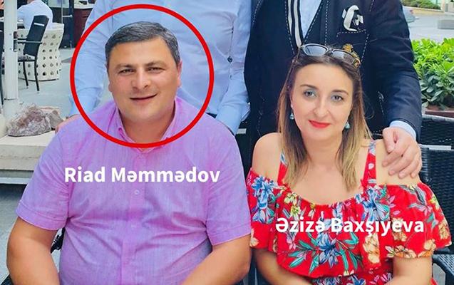 Maska alveri edənlərdən biri Riad Məmmədov imiş...